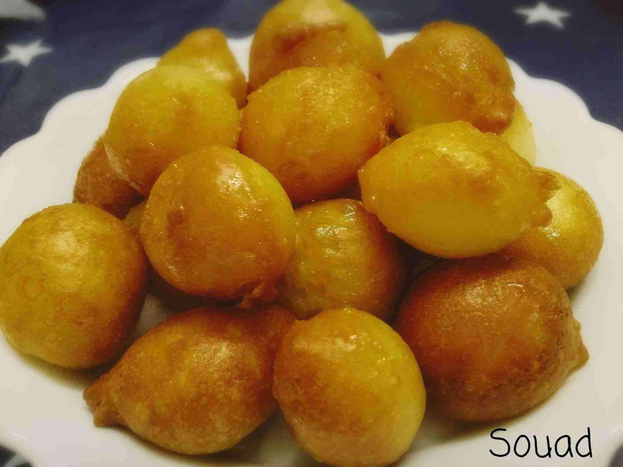 لقمة القاضي او العوامة ملكة تحضيرات رمضان زاكي Food Pretzel Bites Yummy