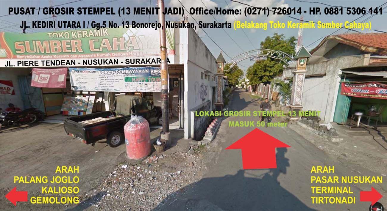 Lokasi Pusat Grosir Stempel 13 Menit Jadi Solo Surakarta Contoh Stempel Contoh Gambar Design Logo Cap Logo Stempel Kilat