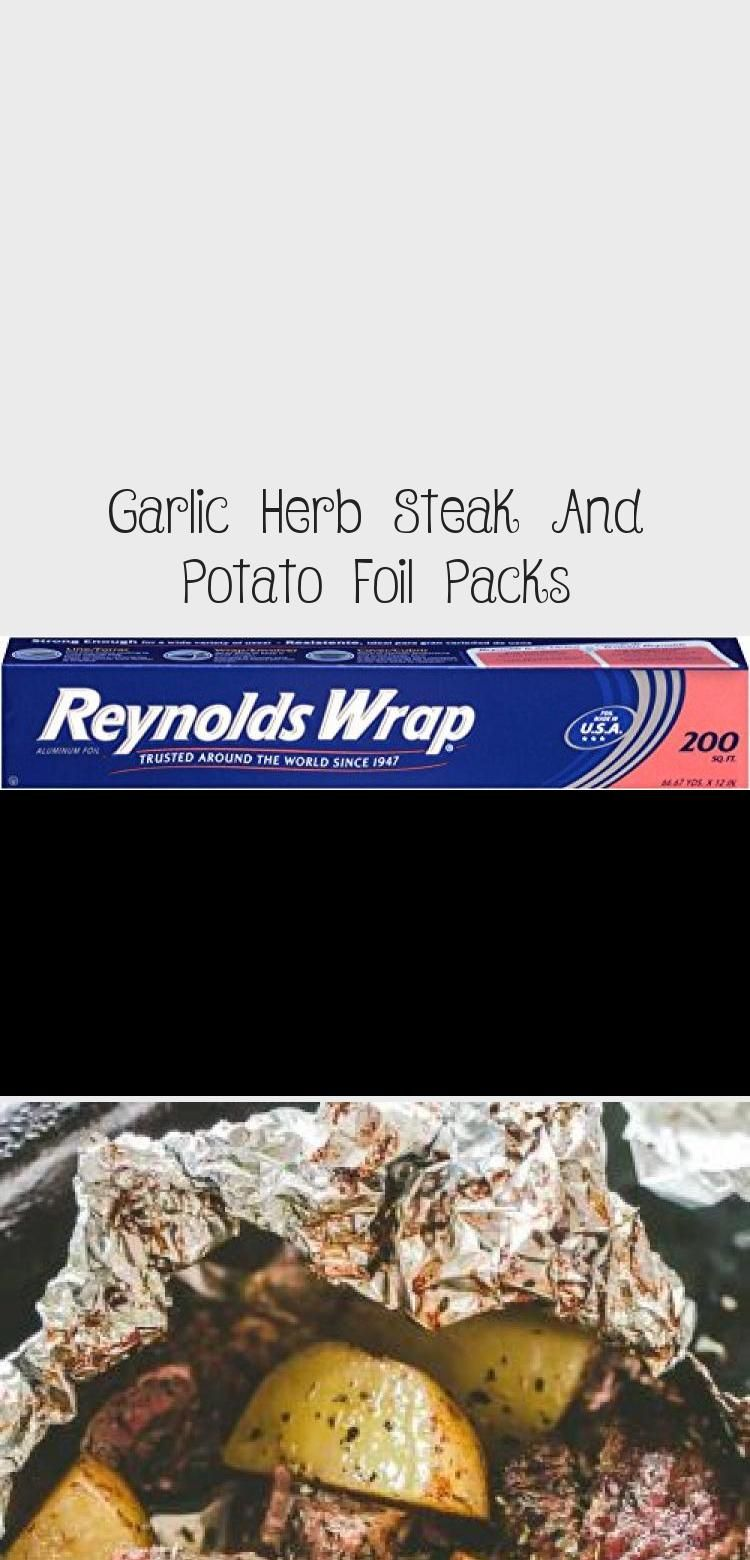 Photo of Garlic Herb Steak And Potato Foil Packs – Chicken Recipes