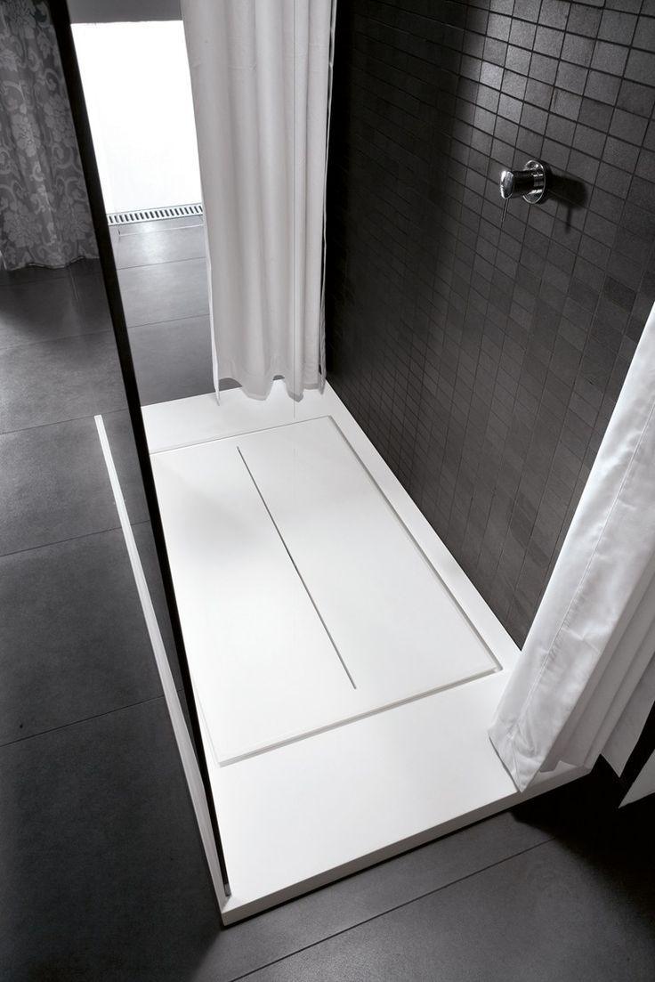 Rectangular Aquatek #shower tray WALK-IN by IdeaGroup #bathroom ...