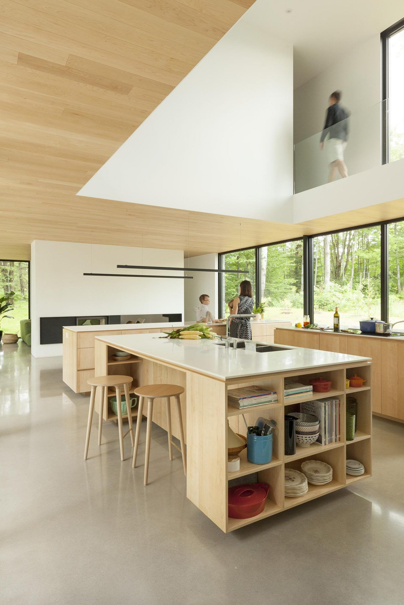 This Kitchen Design Has Three Islands To Maximize