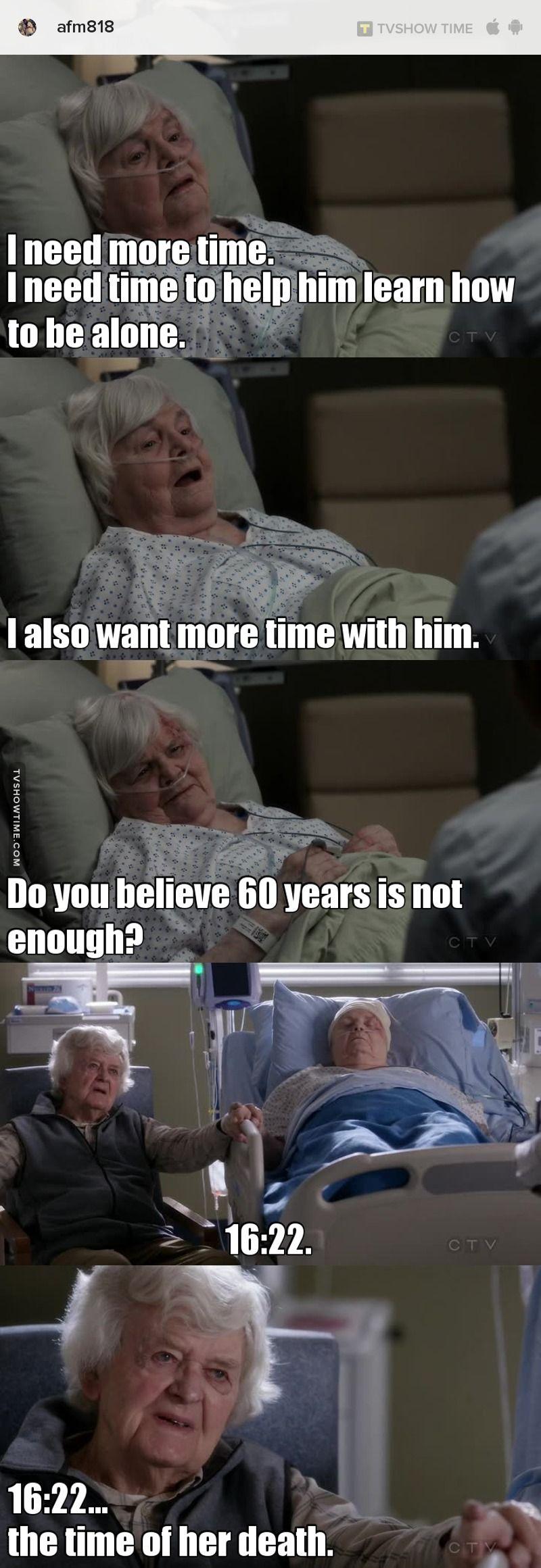 Meme about Grey\'s Anatomy - S13E17 | Medicina, Frases inspiradoras y Amo