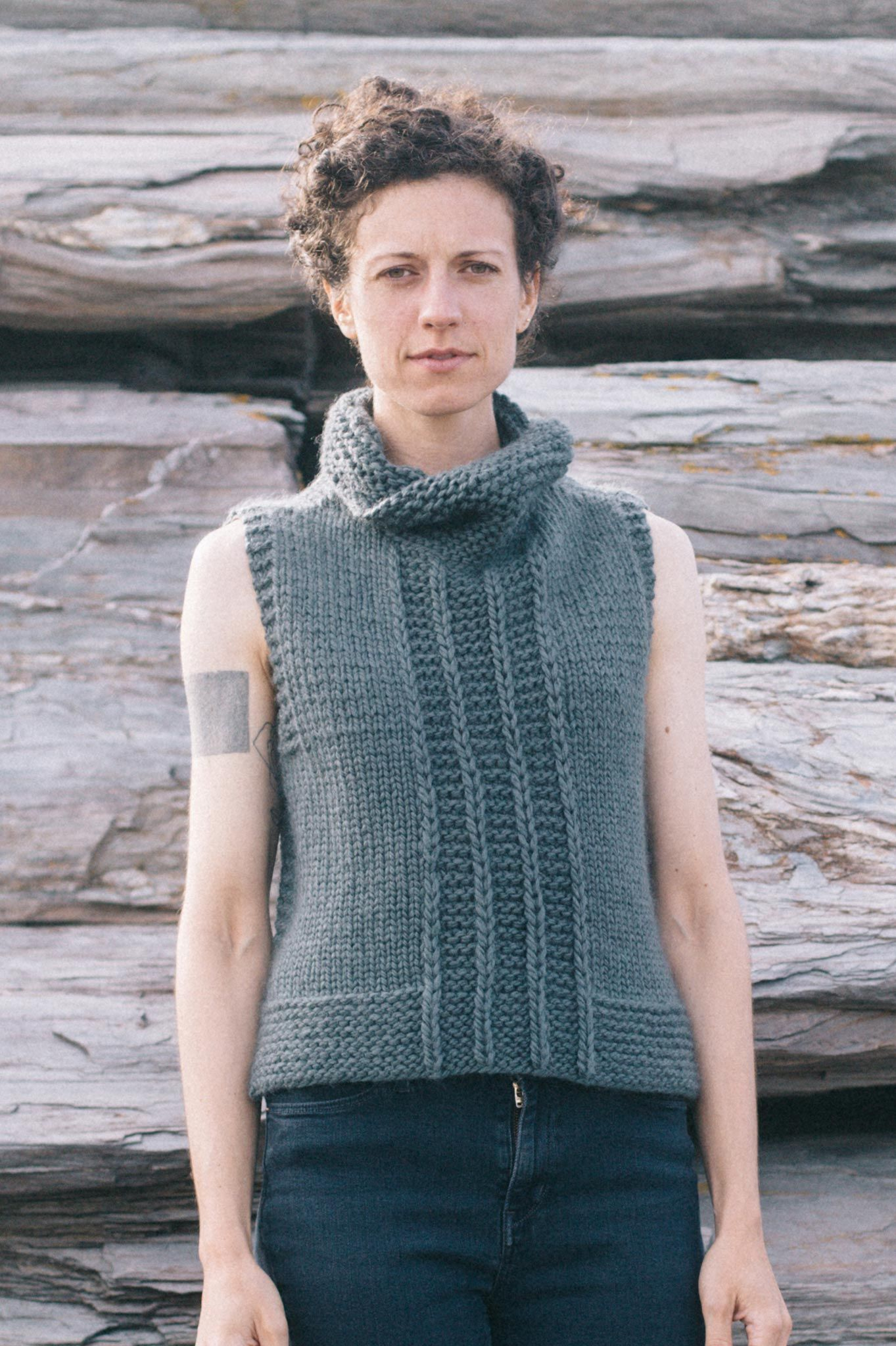 Milliken vest by elizabeth smith from the arctic collection by the milliken vest knitting pattern dt1010fo