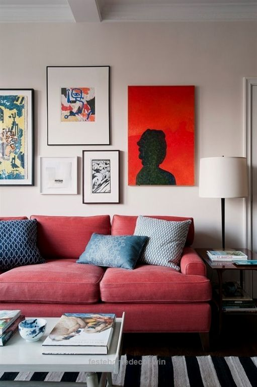 red sofa living room ideas  interior design ideas  home