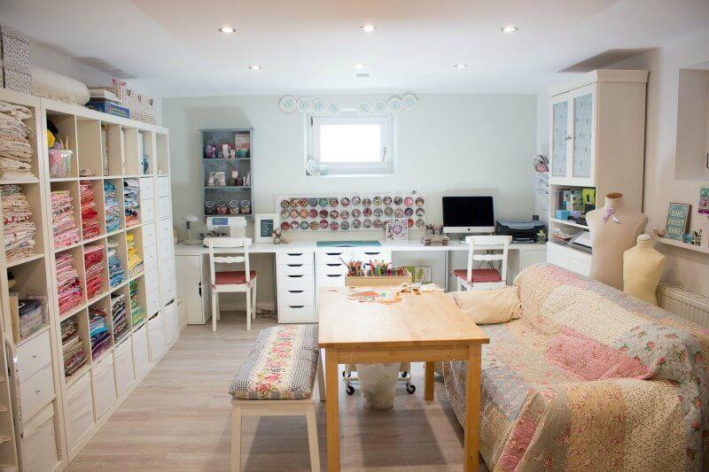 Arbeitszimmer ikea expedit  Jules (craftyneigboursclub.de) Arbeitszimmer | Home - Craft Space ...