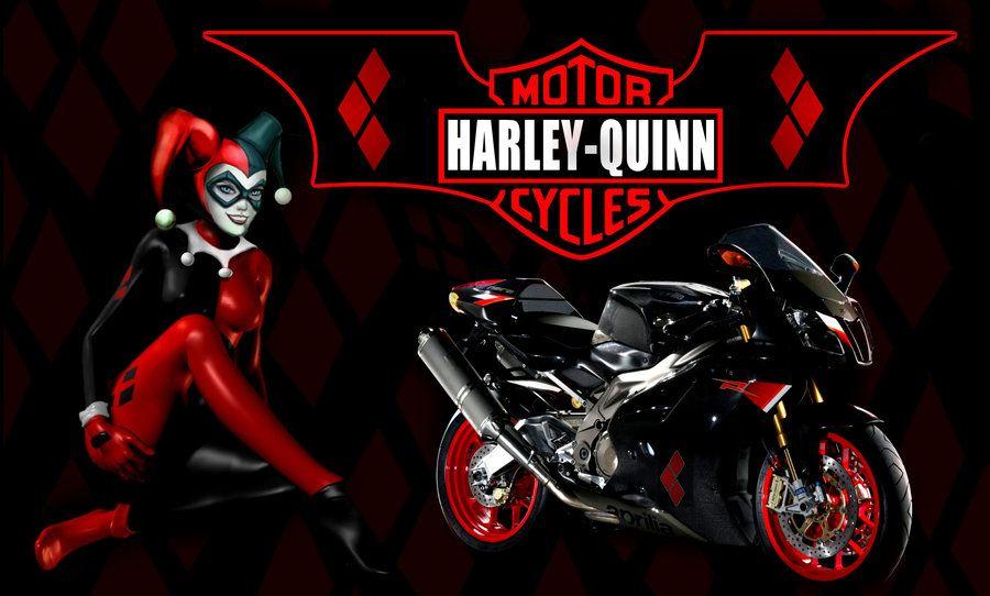Harley quinn motorcycles by brandtkiantart on deviantart harley quinn motorcycles voltagebd Gallery