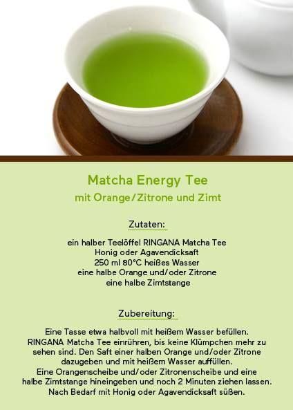 Matcha Tea Containing An Extraordinarily High Amount Of Antioxidants For More Information Visit Www Keep It Natural Co Zubereitung Rezepte Matcha Tee Rezepte