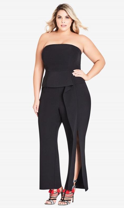 21fd6ca379c44 Twister Jumpsuit $149 #ccworldofcurves Plus Dresses, Summer Dresses, Pant  Jumpsuit, Full Figure
