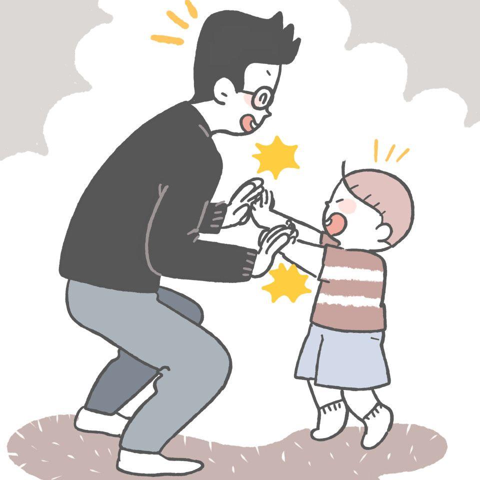 Main High Five Bersama Ayah Bermain Tips Permainan Attachment Bonding Keluarga Ayah Anak Aplikasi Aplikasipermainananak Apli Anak Kreatif Daur Ulang