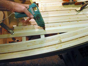 Kayak, and Canoe building, Woodstrip Tricks, Hot Glue, Stapleless ...