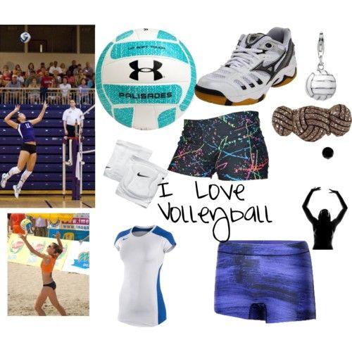 33e60b12c I Love Volleyball Ropa para jugadoras de Voleibol  MODA