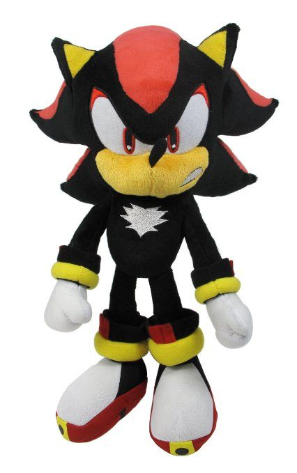 2 Amazon Com Sonic Modern Shadow 7 Plush Toys Games Sonny S