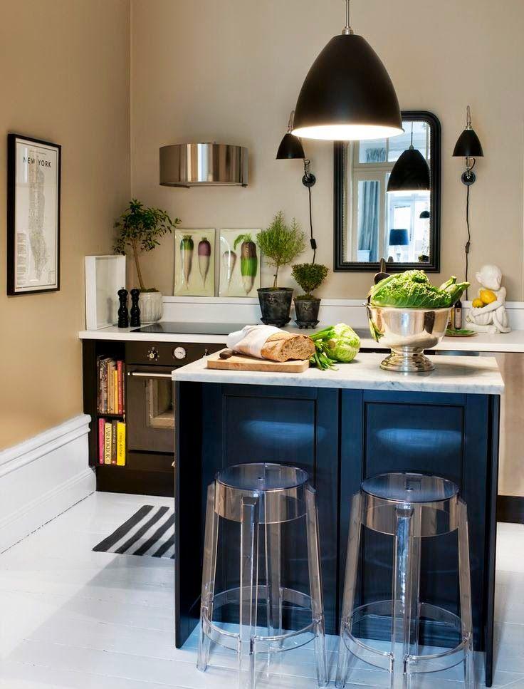 30+ FOTOS de decoración de cocinas modernas pequeñas【TOP 2018 ...