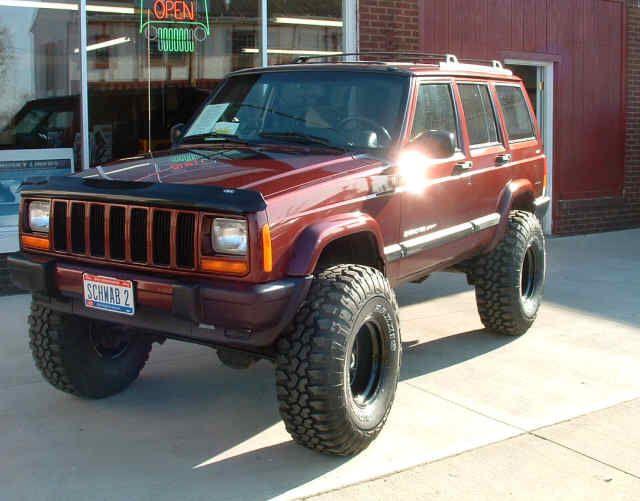 2000 Jeep Cherokee Sport Big Tires Jeep Cherokee Sport Jeep
