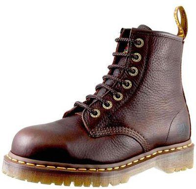 Doc Martens Dr. Martens Icon 7 Eye Steel Toe Bark Bear Boot Men ...