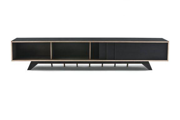 Credenza Con Dos Puertas Corredizas : Low credenza furniture