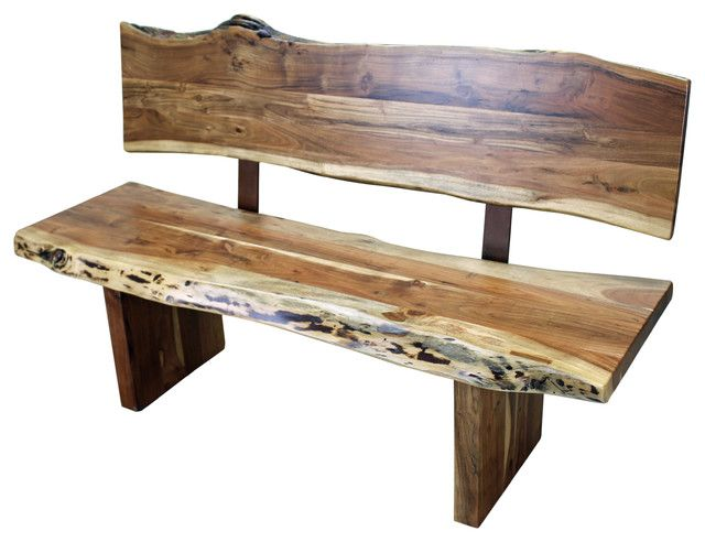 Perfect Indoor Wood Bench With Western Wood Bench With Back Rustic Indoor Benches  By Tres