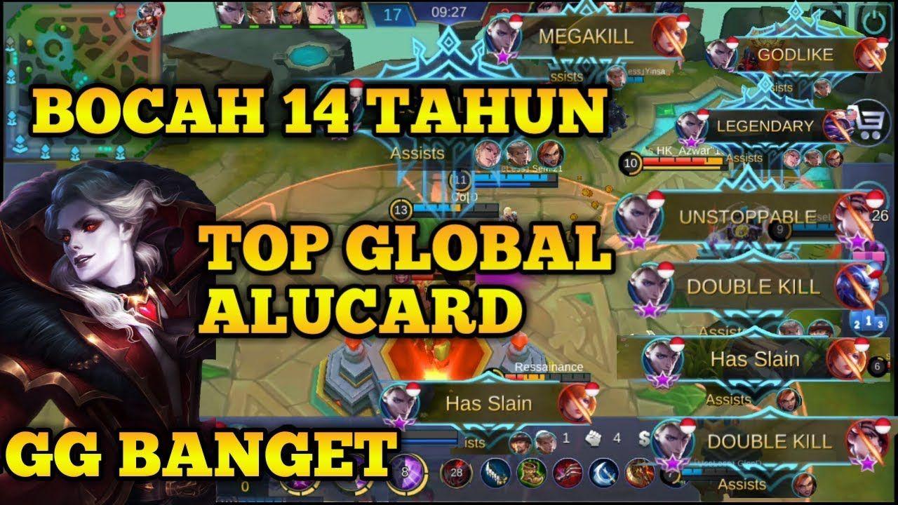 COLD Bocah 14 Tahun Top Global Alucard Skill Dewa Mobile