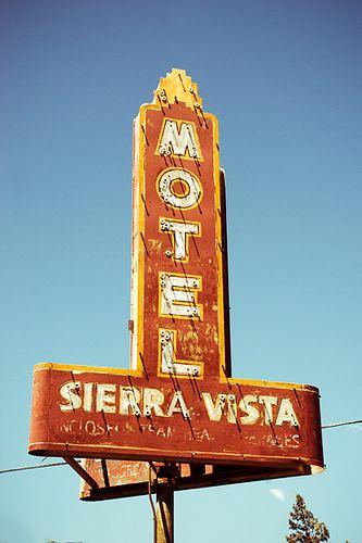 1980 Sierra Vista Old Signs Flagstaff Az