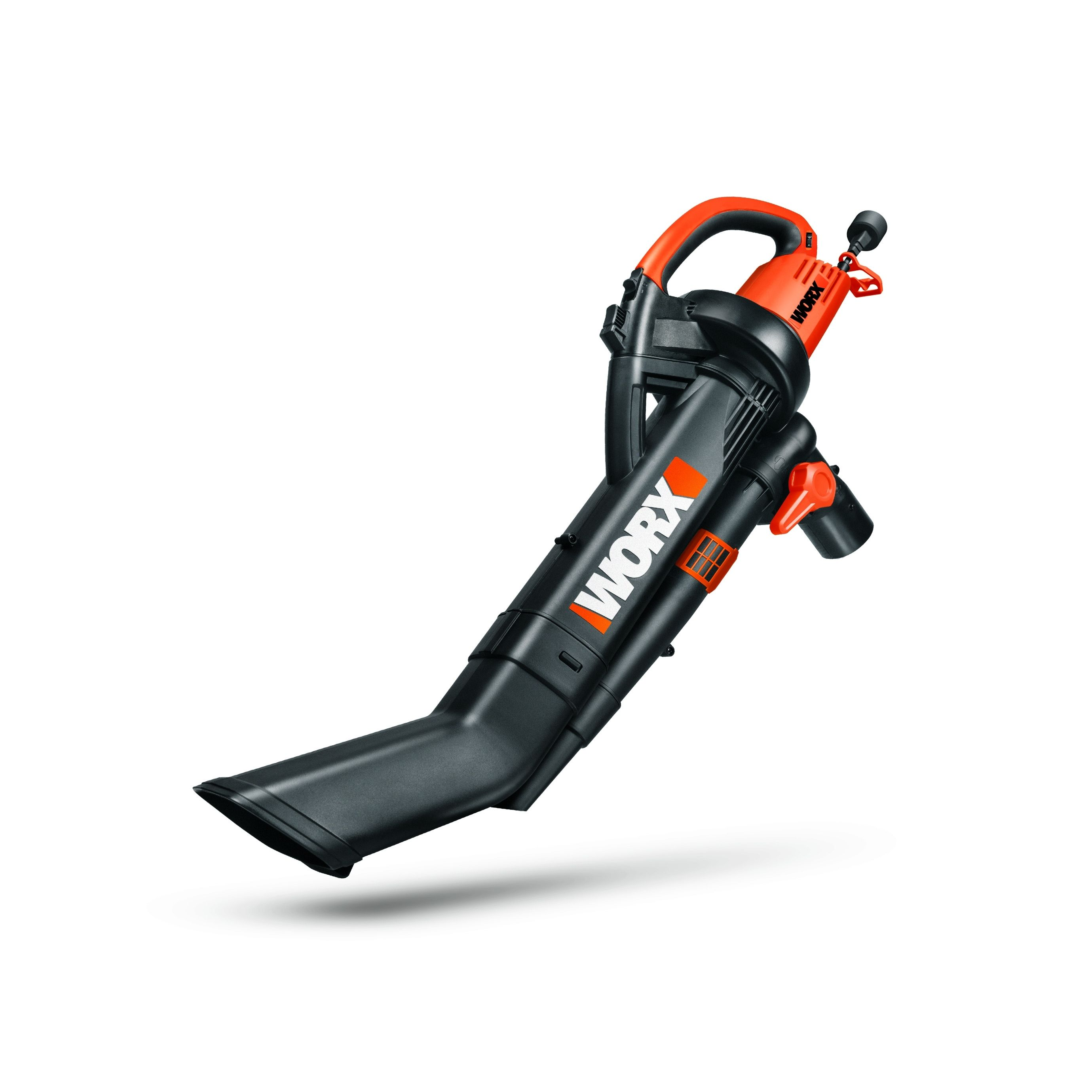 The Worx Trivac Blower Mulcher Vacuum Brings 3 Functions Together In One Compact Light Weight Machine Includes A 3 Mulching Blowers Electric Leaf Blowers