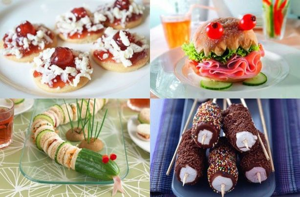 Party food ideas for kids google search chloes party for Cool food ideas for kids