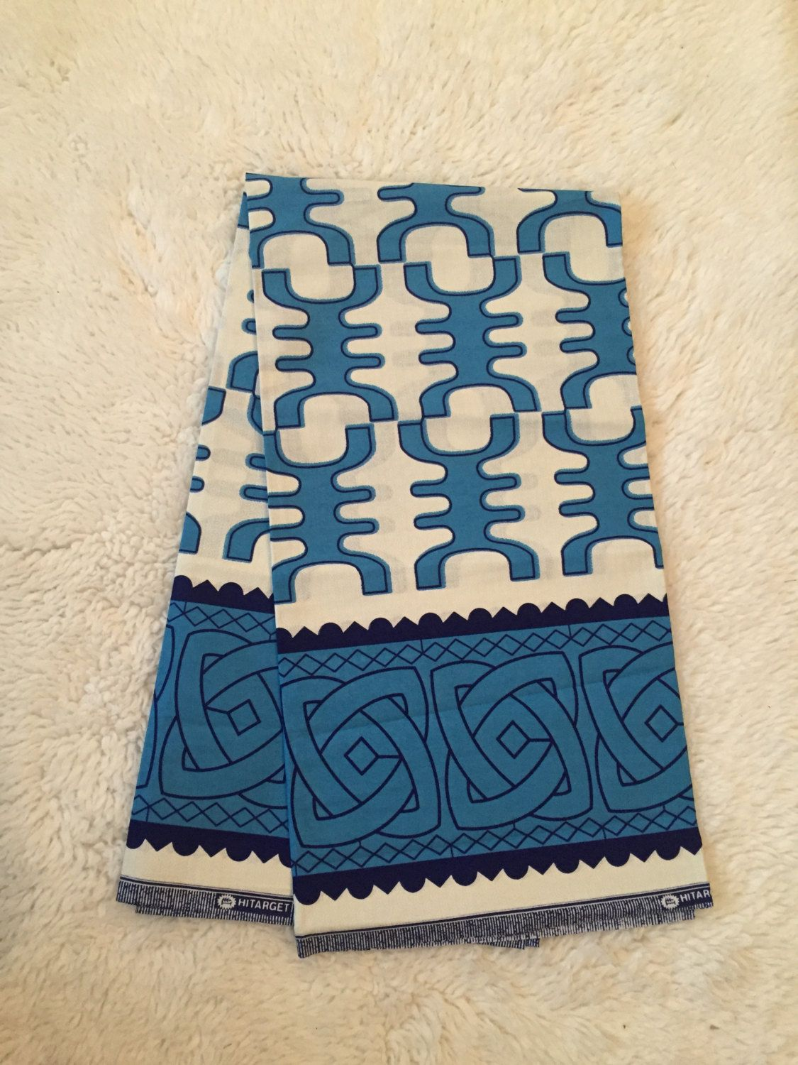 African Wax Print Fabric (Sold by the yard) by TheRavelOut on Etsy