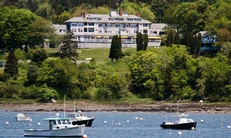 Asticou Inn Is One Of The Oldest And Most Prestigious Inns On Maine S Historic Mount Desert