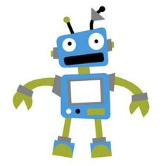 robotics educational editable clip art google search classroom rh pinterest com Robot Clip Art Microsoft robot clipart free download