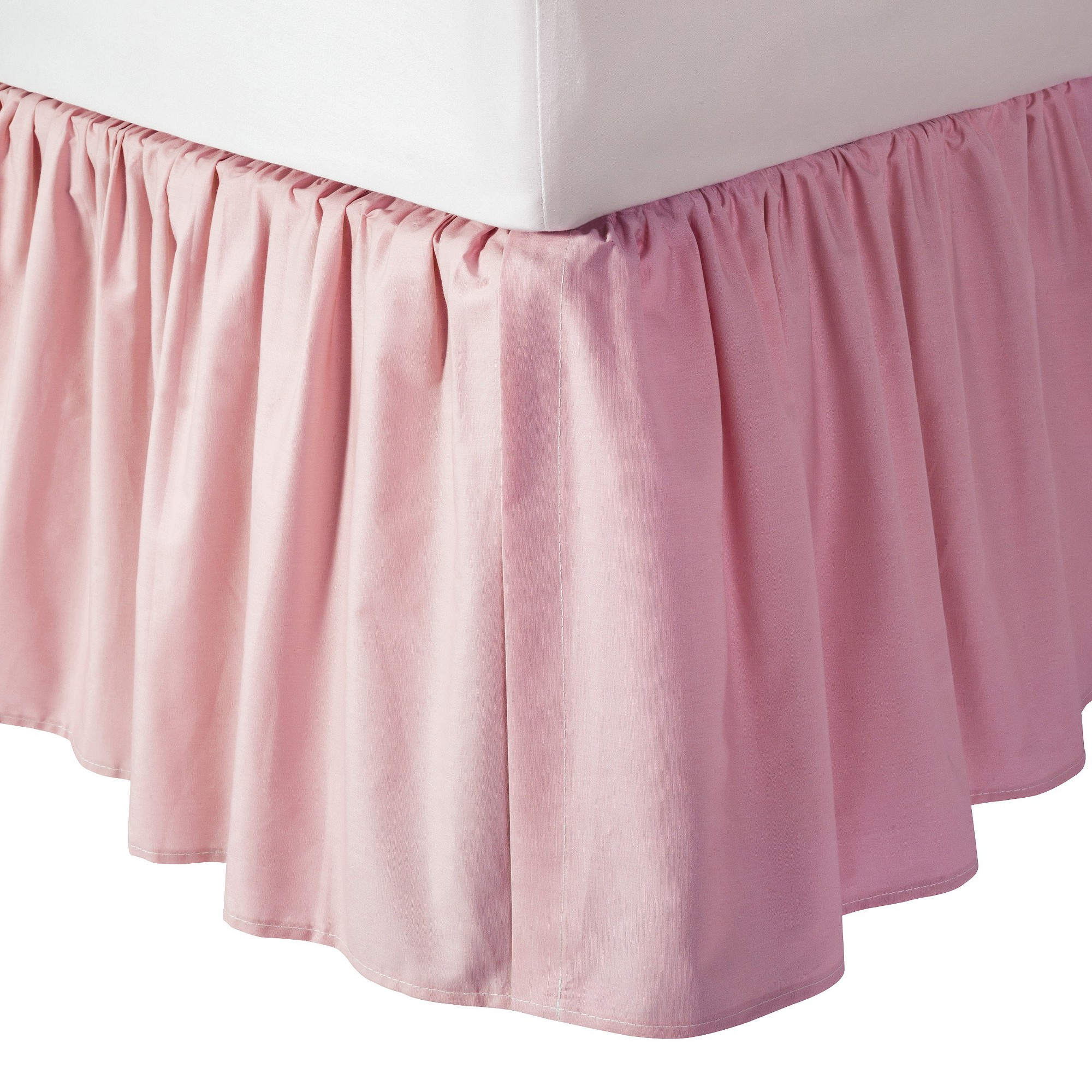Tl Care 100 Cotton Percale Dust Ruffle Pink Crib Bed Skirt Pink Crib Crib Skirts