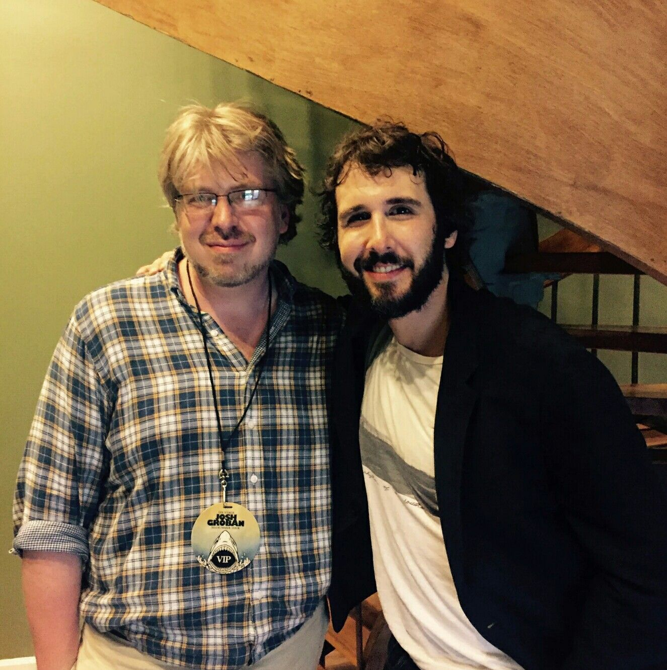 Josh Groban With Dave Malloy At Pnc Garden State Arts Center 7