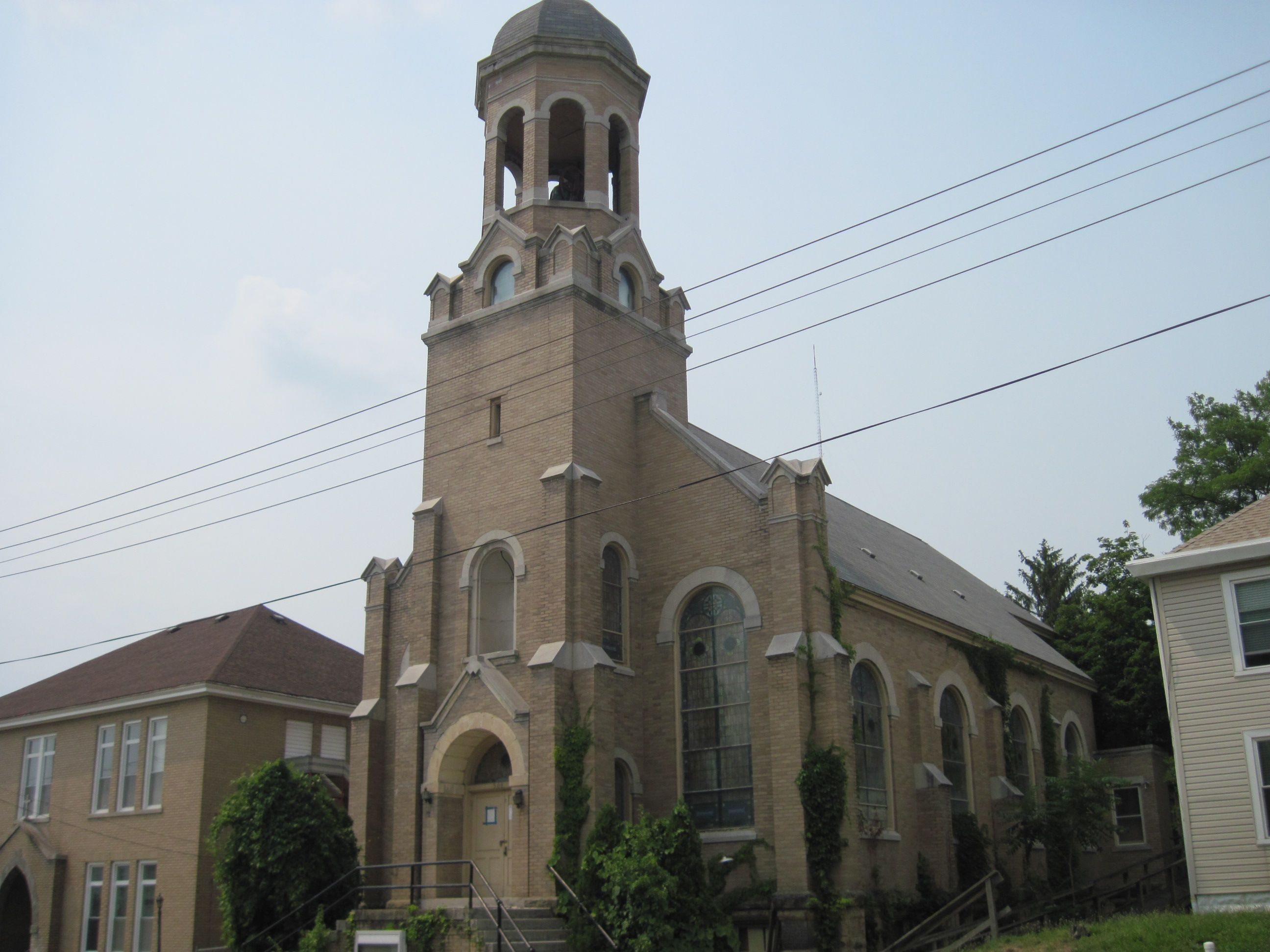 The Holy Rosary Catholic Slovak Church was completed in 1909