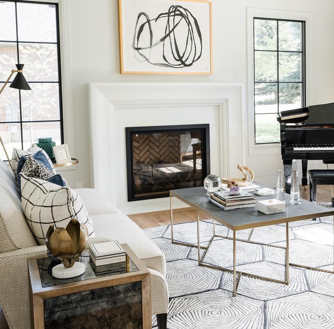 35++ Fireplace between windows ideas ideas