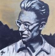 Painting portrait Robert Abele By artist Julia Abele on DesArts