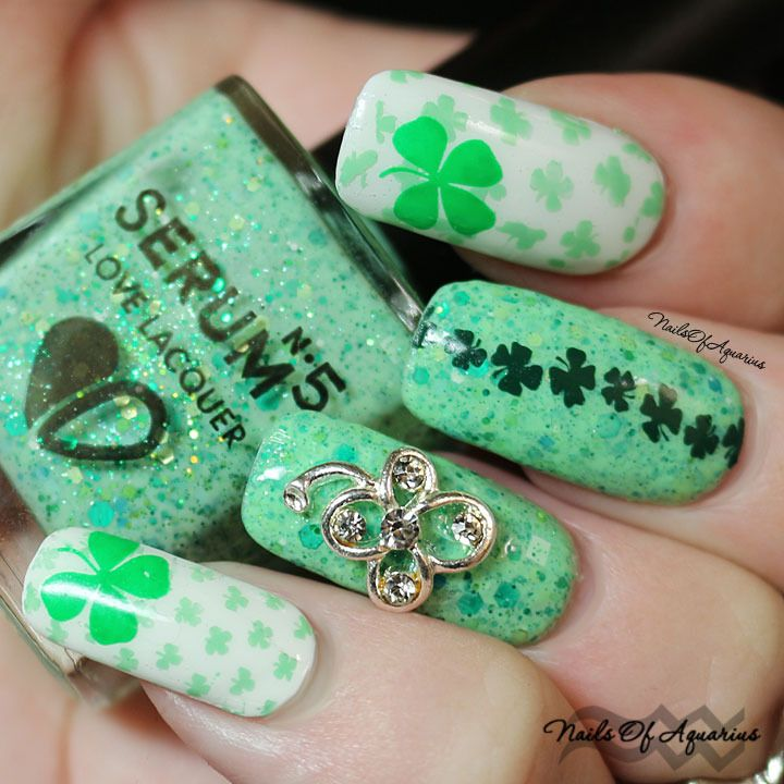 Happy St. Patrick\'s Day with Serum No 5 | Serum, Manicure and Nail ...