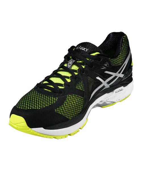 Asics Gt 2000 4 Negras Y Amarillas T606n 0790 Amarillo Zapatillas Para Correr Zapatillas Running
