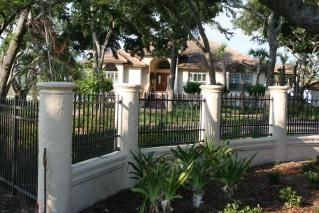 concrete fence designs google search - Wall Fencing Designs