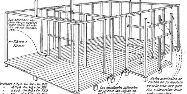 Como hacer una casa de madera desarmable estilo pinterest madera casas de madera and - Hacer bricolaje en casa ...