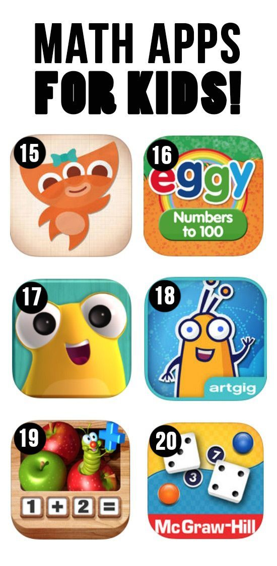100 of the BEST Apps, YouTube Channels & Websites for Kids! | Math ...