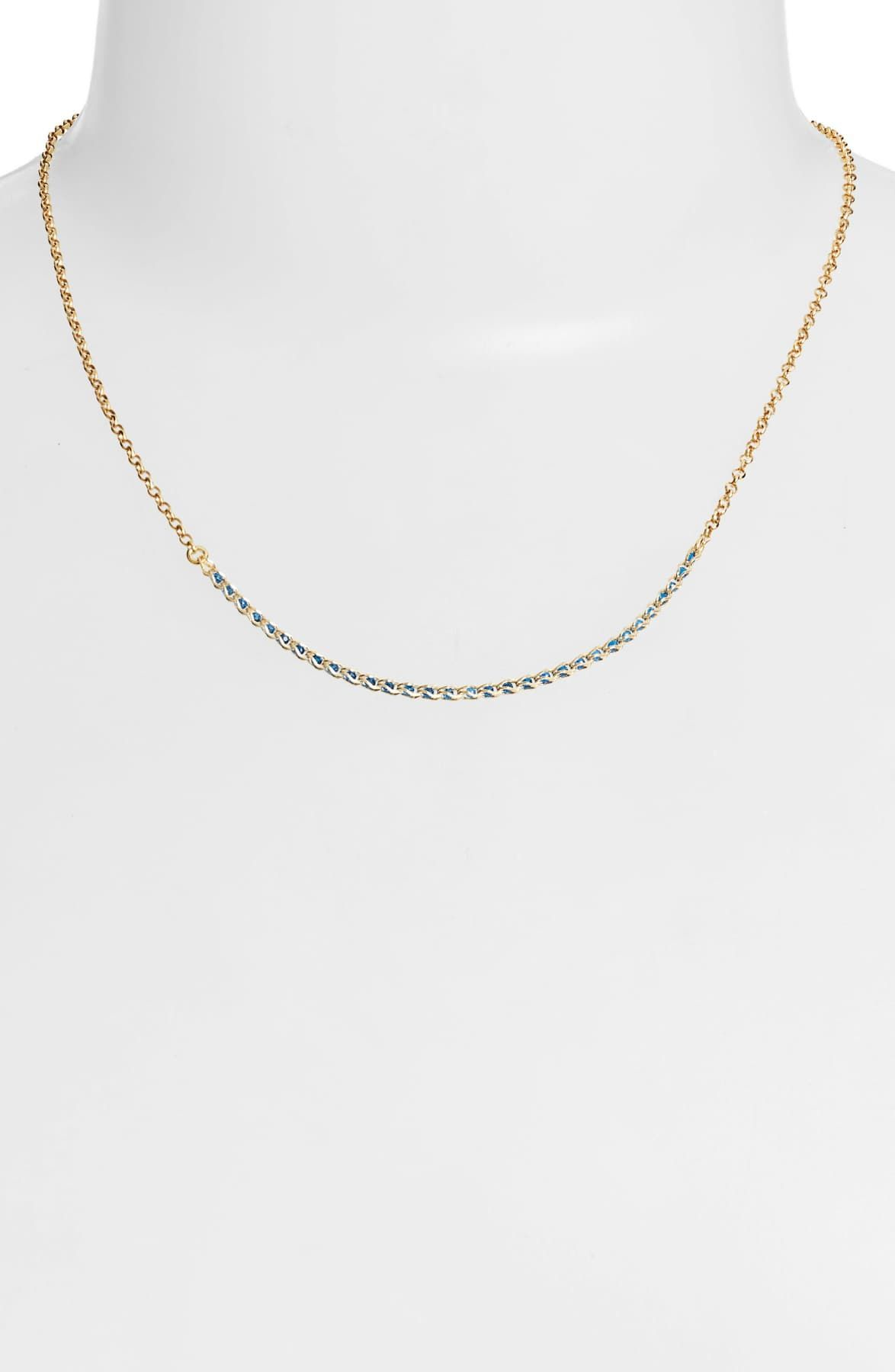 Argento Vivo Caged Crystal Frontal Necklace by Argento Vivo on @nordstrom_rack