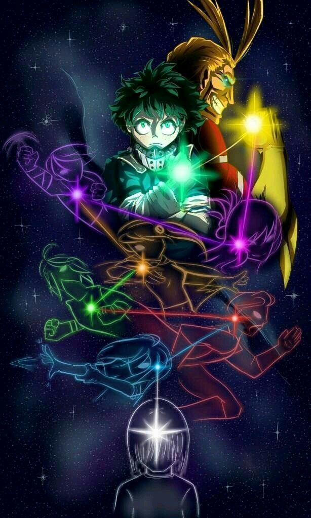 One For All All One For My Hero Academia Episodes Hero Hero Wallpaper