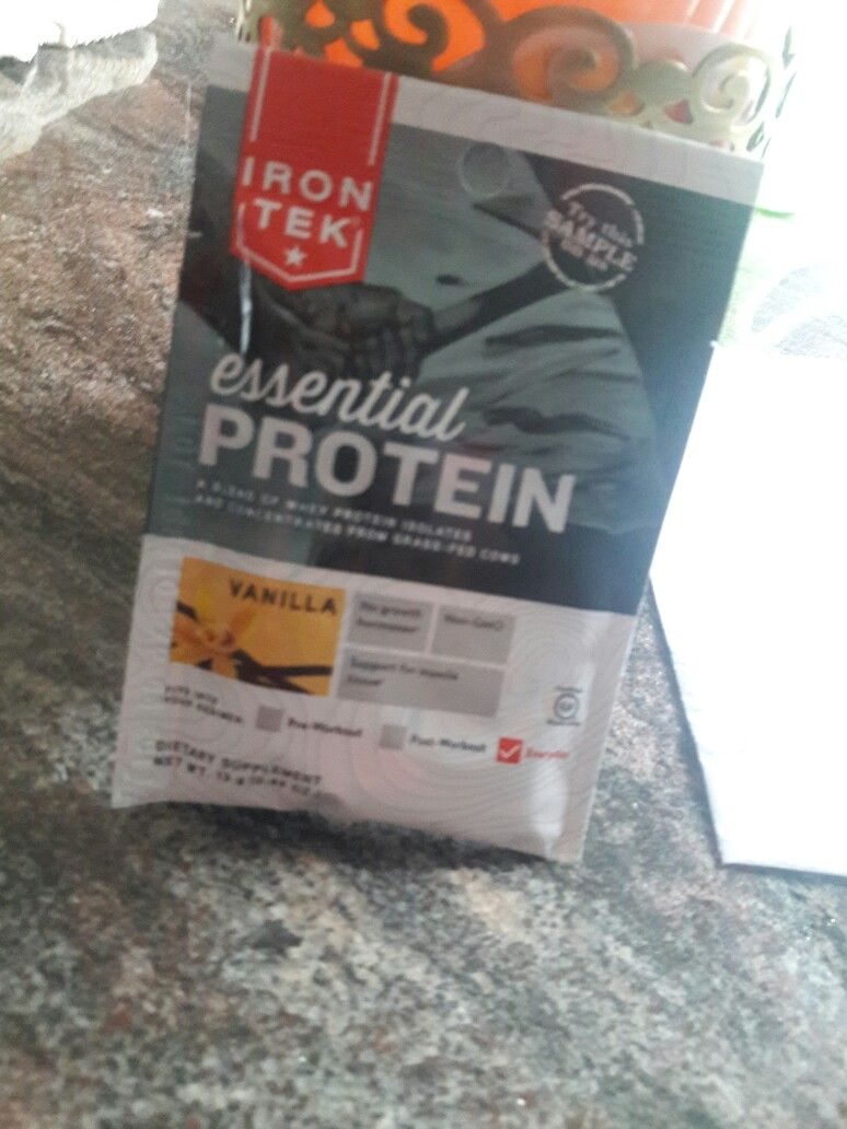 Stay active with  Protein Powder from irontekfit @Influenster & @IronTekFit  hashtags #IronTekFit and #contest