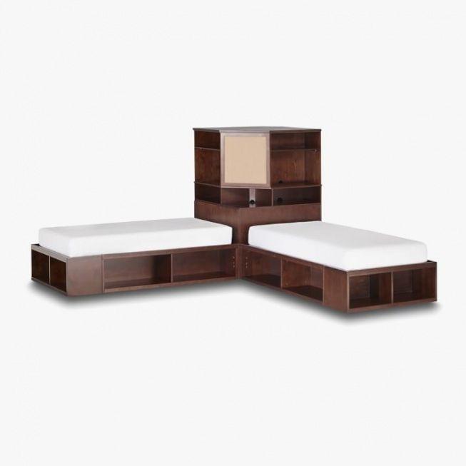 Genial Bedroom : Corner Twin Bedroom Set .