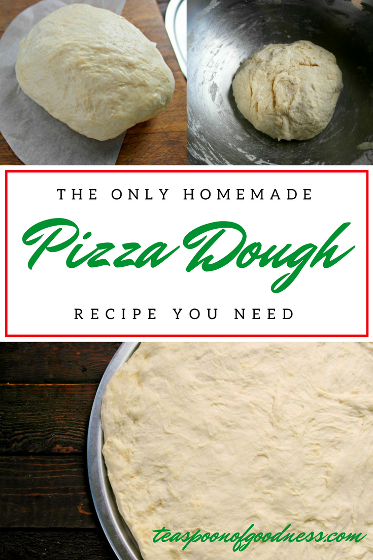 Homemade Pizza Dough | Recipe | Super easy, Crusts and Pizzas