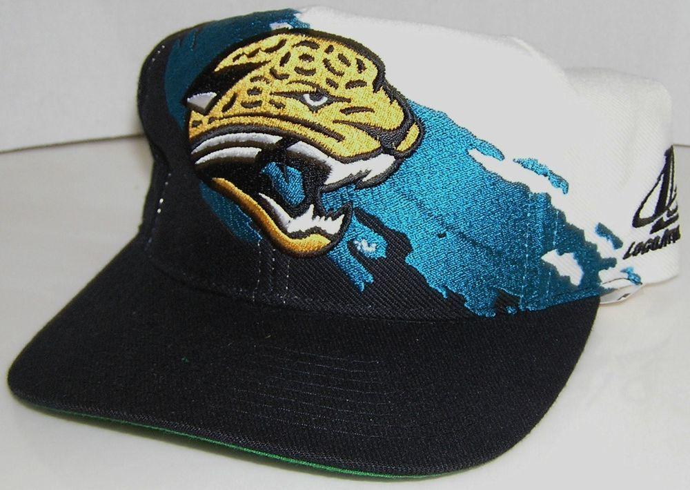 Jacksonville Jaguars Vintage Sport Specialties Paint Brush NFL Snapback Hat   SportSpecialties  JacksonvilleJaguars a17e1655b229