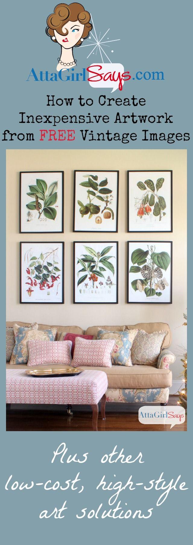Where to find inexpensive antique botanical prints diy projects creatve inexpensive artwork with vintage botanical prints framed botanical prints botanical art cheap artwork izmirmasajfo