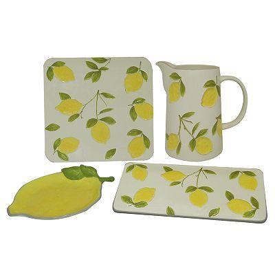 Sonoma Life Style Lemon Collection Lemon Kitchen Decorkitchen
