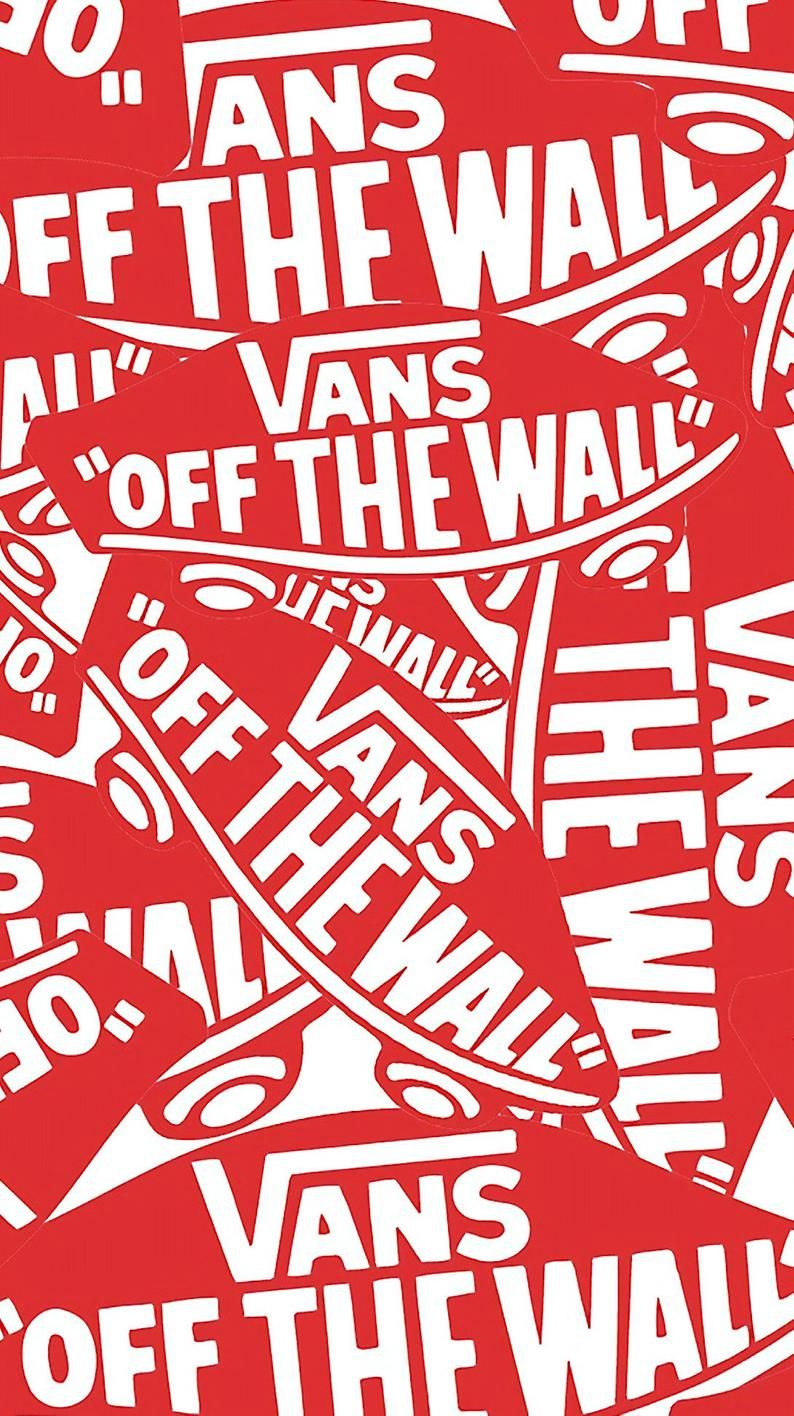 VANS Off The Wall Poster Surfing/ Skateboarding Etsy di