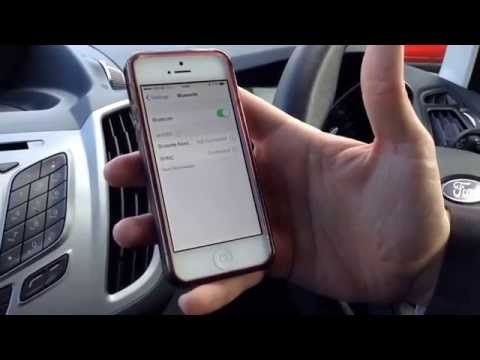 How To Pair You Smart Phone Using Bluetooth To The Ford Sync