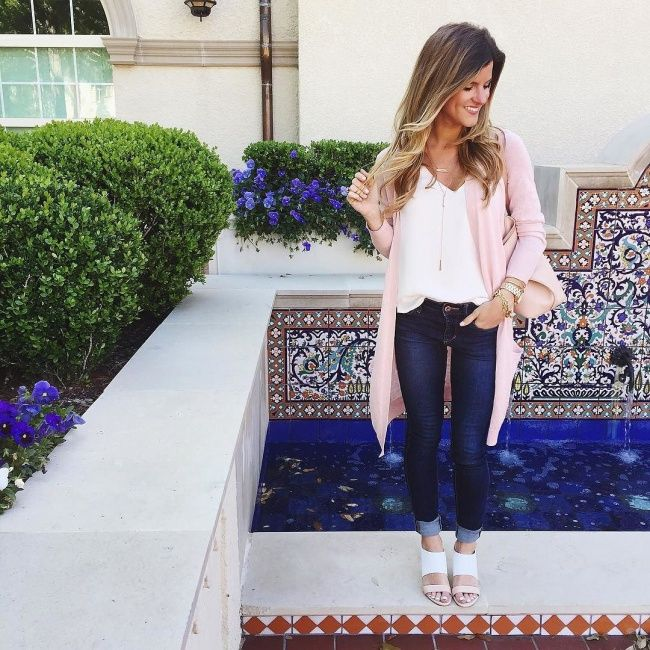 Cardigan Outfits Ways To Wear Long Cardigans in Spring