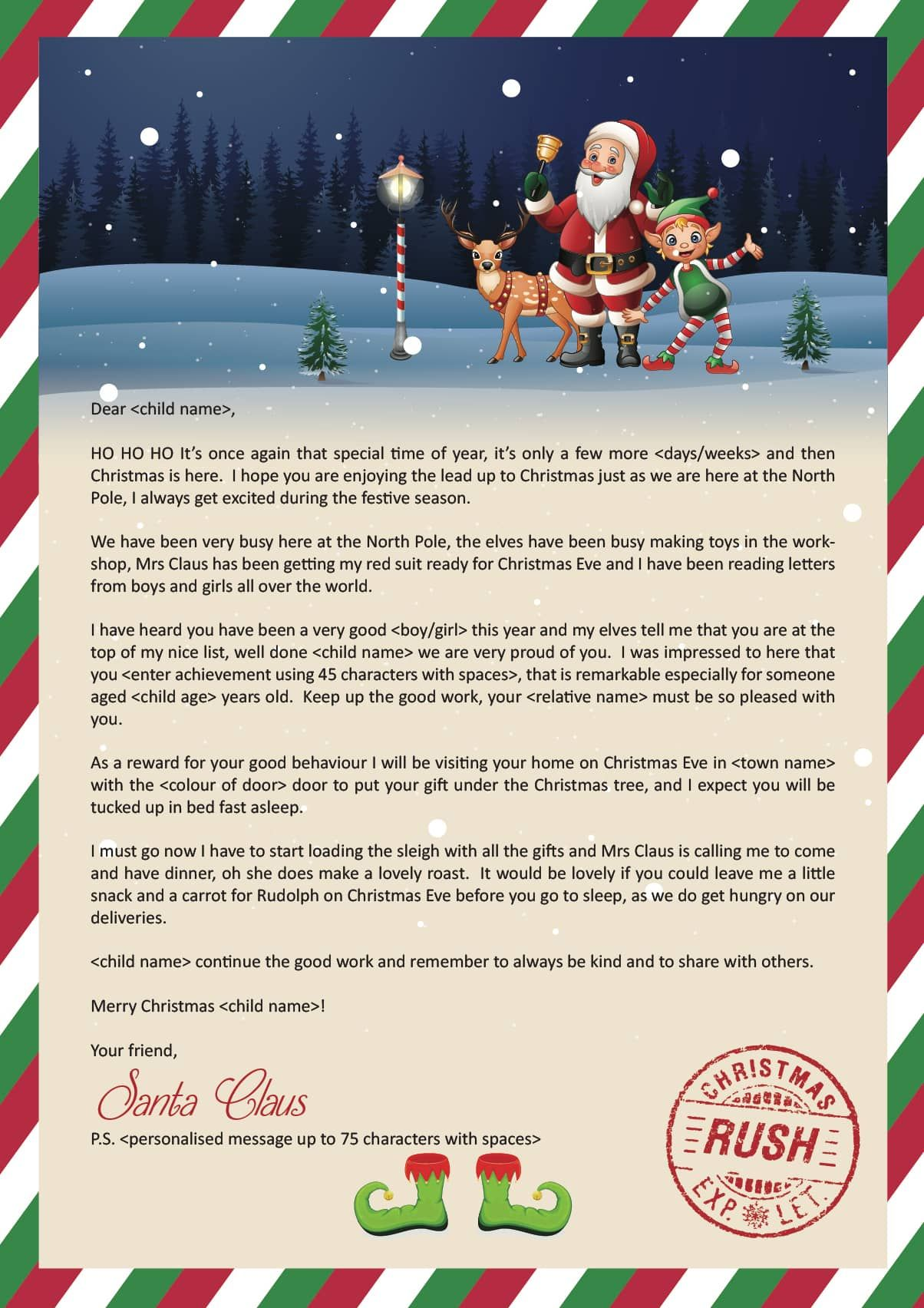 Jingle Bells, Jingle Bells, Jingle Bells Rock!!! We cant believe Christmas  is nearly here, let your little ones know what Santa Claus has been up to  with ...